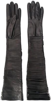 Manokhi Long Slit Gloves