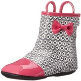 Robeez Happy Hopper Rainboot Hard Sole Mini Shoe (Infant)