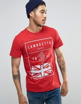 Lambretta British Flag T-shirt