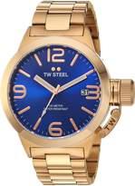 TW Steel Men's CB181 Analog Display Quartz Rose Gold Watch