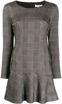 Liu Jo fitted glen check dress