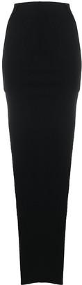 Rick Owens Side-Slit Pull-On Skirt