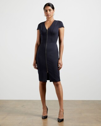 Ted Baker Piping Detail Bodycon Dress