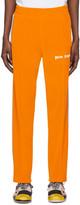 Palm Angels Orange Chenille Track Pants