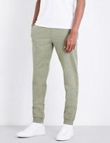 Michael Kors Marl stretch-cotton jogging bottoms