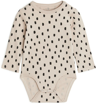Arket Patterned Bodysuit