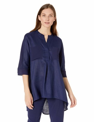Anne Klein Women's Linen Tunic