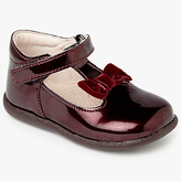 John Lewis Children's Molly T-Bar Patent Shoes, Burgundy
