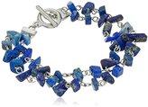 Karen Kane Seven Seas Beaded Silver Tone Bracelet
