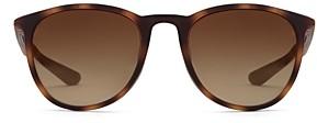 Krewe Active Unisex Perdido Polarized Oversized Round Sunglasses, 56mm