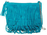 Capelli of New York Fringe Crossbody Bag