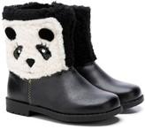 Rachel Girls' Casual boots BLACK/IVORY - Black & Ivory Panda Boot - Girls