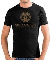 Touchlines Men's Crew Neck Short Sleeve T-Shirt - Black -