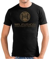 Touchlines Men's Crew Neck Short Sleeve T-Shirt - Brown -