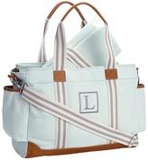 Pottery Barn Kids Aqua Classic Diaper Bag
