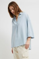 French Connection Juliette Pop Over Shirt