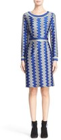 Missoni Bicolor Zigzag Knit Dress
