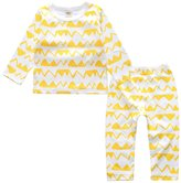 Kids Tales Baby Boy Girl Cartoon 2 PCS Pajama Set 100% Cotton(Size 4-24 Months)