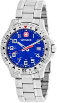 Wenger Off Road 79308W Men's Silver Tone Stainless Steel Watch
