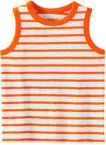 Joe Fresh Toddler Boys' Stripe Tank, Orange (Size 5)