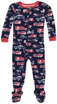 """Carter's Little Boys' Toddler """"Ladder Company"""" Footed Pajamas"""