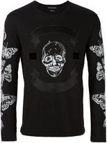 Alexander McQueen skull and moth print T-shirt