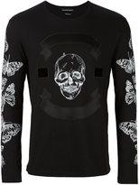 Alexander McQueen skull and moth print T-shirt