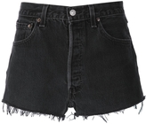 RE/DONE Cut Off Denim Shorts