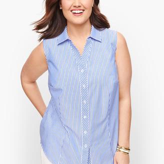 Talbots Perfect Shirt - Sleeveless - Mixed Stripe