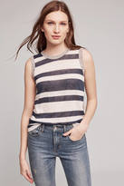 Wilt Rox Striped Linen Tank