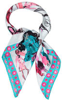 Christian Lacroix Multicolor Printed Scarf