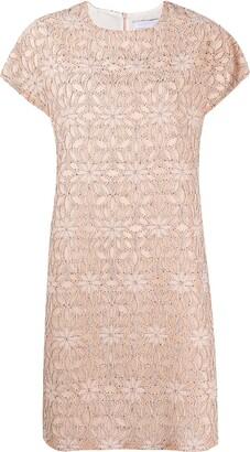 Harris Wharf London floral patterned mini dress