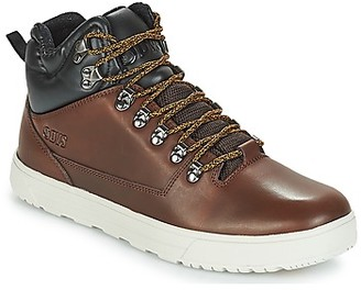 DVS Shoe Company VANGUARD+ men's Shoes (High-top Trainers) in Brown