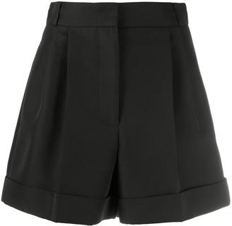 Alexander McQueen Pleat-Detail Shorts