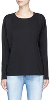 Vince Pima cotton compact jersey long sleeve T-shirt