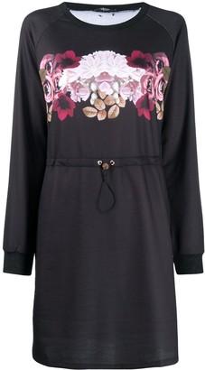 Liu Jo Floral-Print Drawstring-Waist Dress