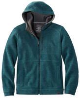L.L. Bean Men's Wool Tek Hooded Jacket