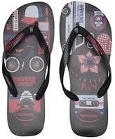 Havaianas Top Stranger Things Sandal (Black) Men's Shoes