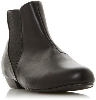 Head Over Heels Polina Round Toe Ankle Boots