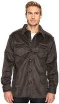 True Grit Pebble Sueded Button Jacket