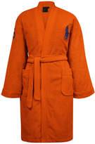 Ralph Lauren Home Big Polo Pony Robe - Orange - S