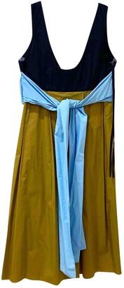 Marni Gold Cotton Dresses