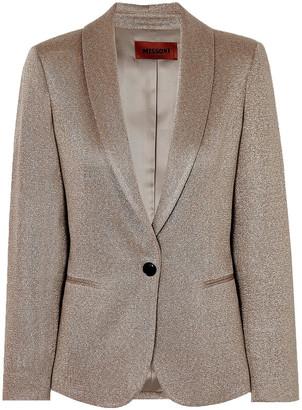 Missoni Metallic Knitted Blazer