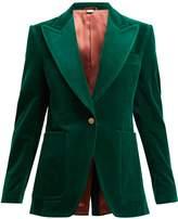 Gucci Tailored velvet jacket