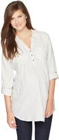 Motherhood Convertible Sleeve Maternity Tunic
