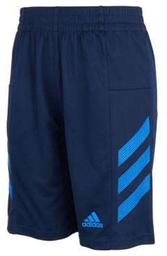 adidas Big Boys Aeroready Pro Sport 3-Stripe Mesh Shorts