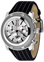 Glam Rock Midsize Miami Chronograph Black Silicon