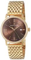 Maurice Lacroix Women's 'Eliros' Quartz and Gold Plated Casual Watch(Model: EL1094-PVPD6-710-1)