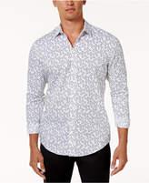 INC International Concepts I.N.C. Men's Ditsy-Print Shirt, Created for Macy's