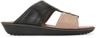 Tod's Contrast Open-Toe Sandals